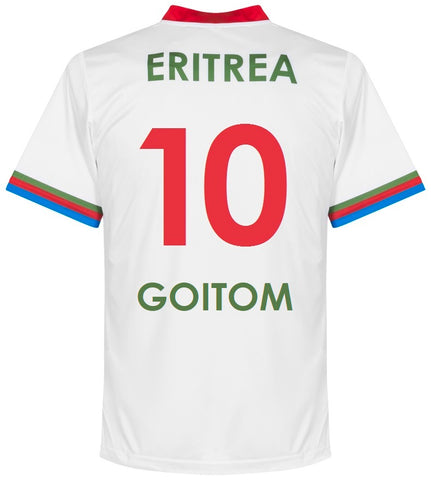Eritrea Home Shirt GOITOM #10