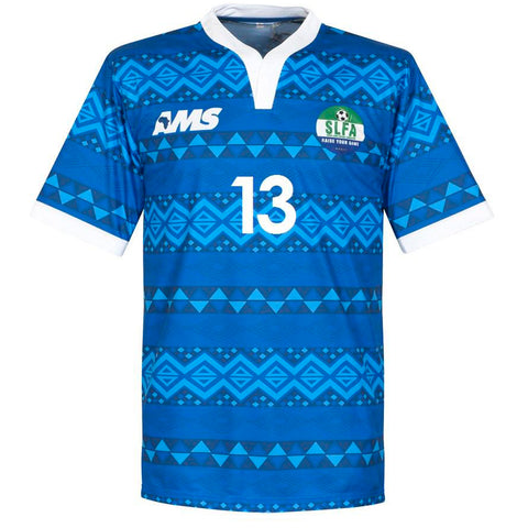 Sierra Leone Away Shirt LAHOUD #13