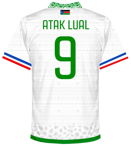 South Sudan Home Shirt 2017-19 ATAK LUAL #9