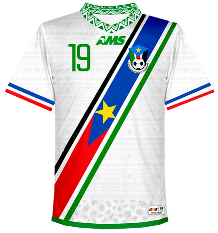 South Sudan Home Shirt 2017-19 ATHIU #19