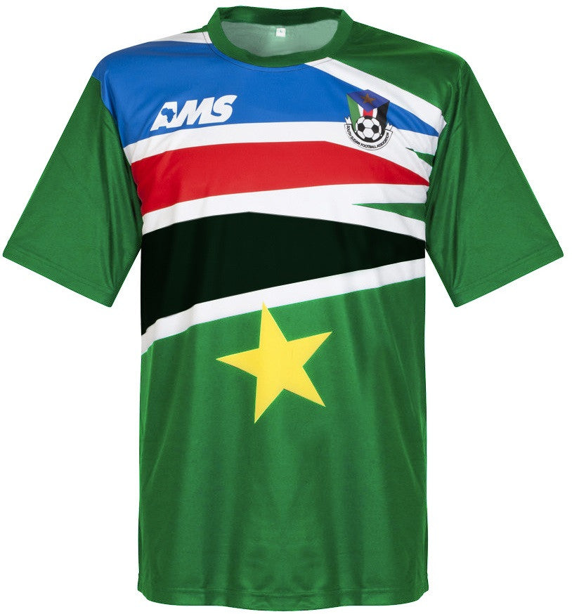 South Sudan MATCH WORN #11 Away Shirt 2014-15