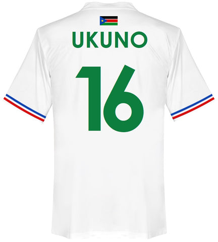 South Sudan Player Issue Home Shirt 2015-16 UKUNO #16