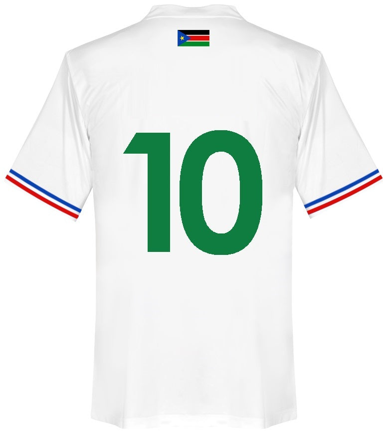 South Sudan Player Issue Home Shirt 2015-16 #10