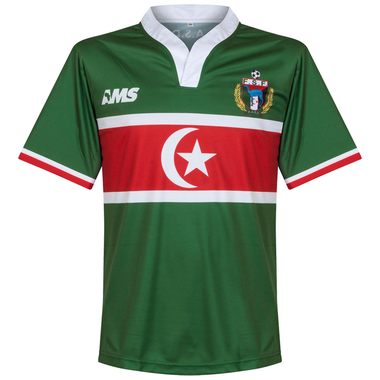 Western Sahara Home Shirt 2017-18