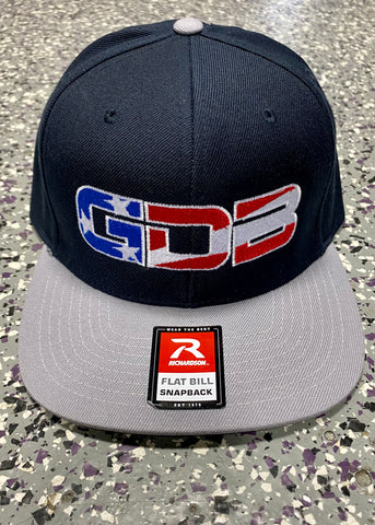 GDB USA Hat - Grey/Blue