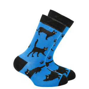 Kids Shadow Cat Socks