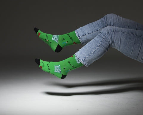 Men's Calculator Socks