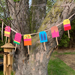 Popsicle Garland - Thursday May 13th at 4.30pm