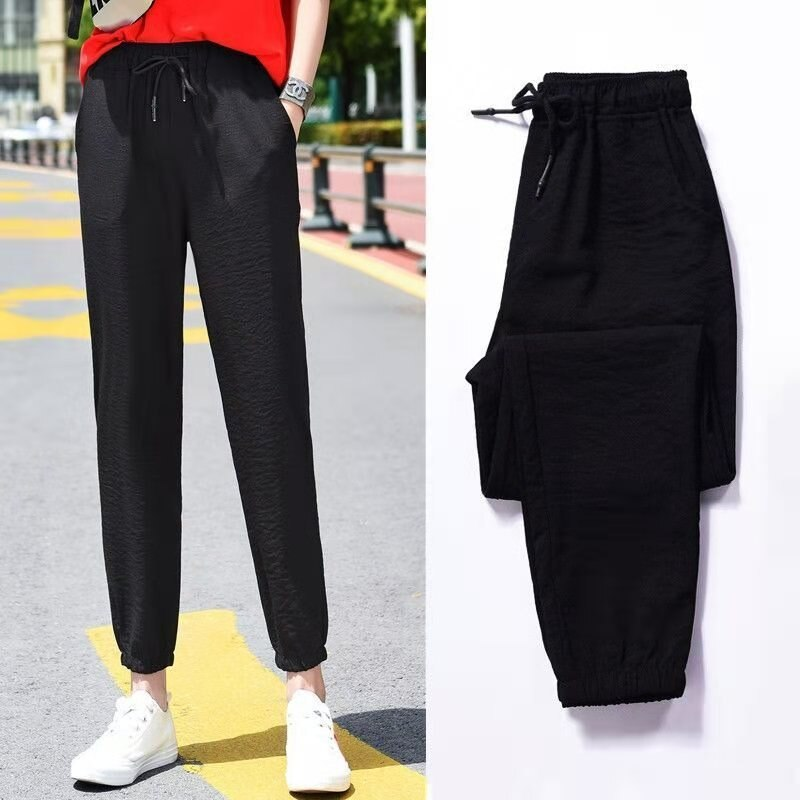 2020 Winter Women Gym Sweatpants Female Running Sport Pants Workout Solid Trousers Fleece Thick Warm Winter Pants Pantalones