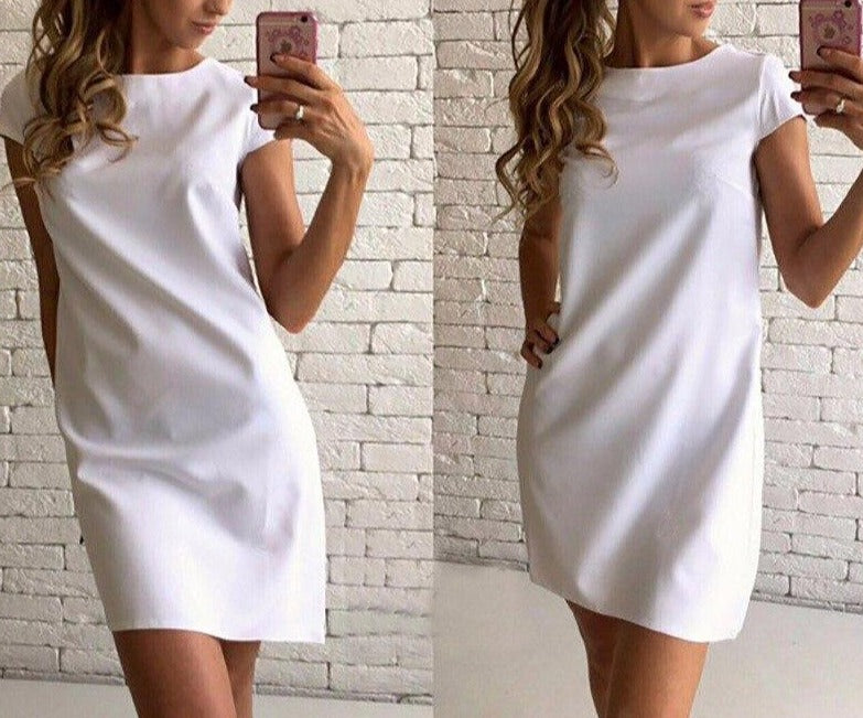 Summer Dress 2020 Hooded Sweatshirt O-neck Sexy Elegant Women Party Dresses Fashion Bodycon Short Dress Package Hips Slim Female