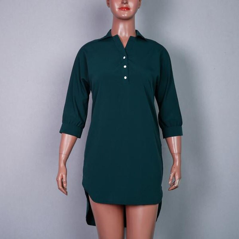 Big size 6XL 2020 Fat MM Women Summer dress Fashion Loose irregular shirt Dresses plus size women clothing dress vestidos