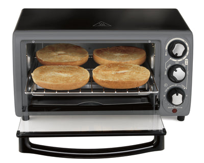 Hamilton Beach Toaster Oven In Charcoal (5868550357157)