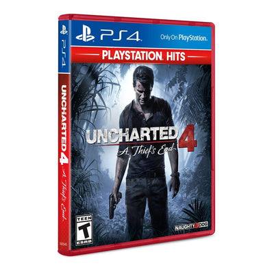 Uncharted 4: A Thief's End - PlayStation Hits, Sony, PlayStation 4, 711719523215 (5871724691621)