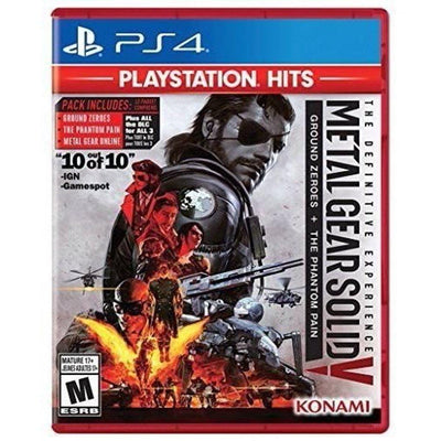 Metal Gear Solid V: The Definitive Experience - PlayStation Hits for PlayStation 4 (5871791440037)