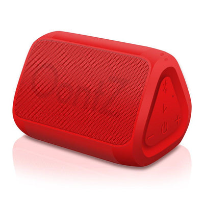 OontZ Angle solo Bluetooth Speaker Surprisingly Loud Bass 100Â' Wireless Range, IPX-5 Splashproof Red with Lanyard (5871205875877)