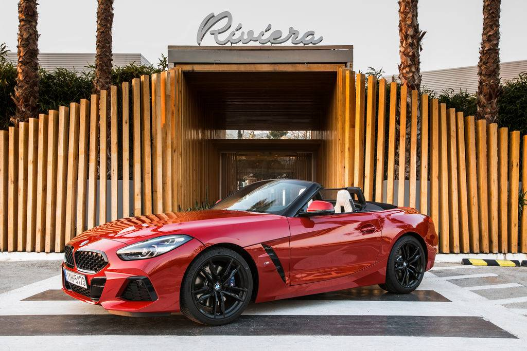 2021 BMW Z4 sDrive20i M Sport (San Francisco Red Metallic)