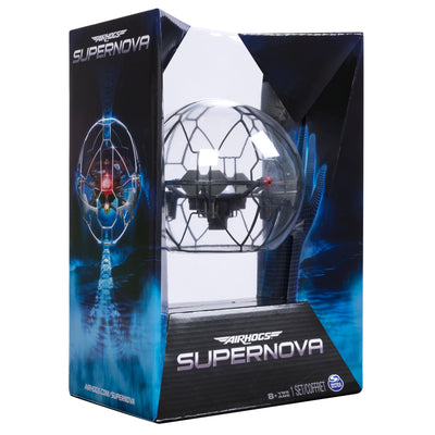 Air Hogs - Supernova, Gravity Defying Hand-Controlled Flying Orb, for Ages 8 and Up (5868511002789)