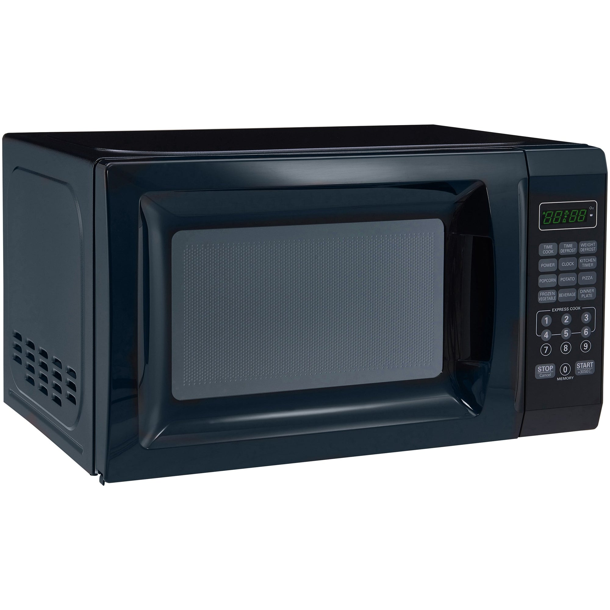 Free Cleaning Wipes Black Mainstays 700W Output Microwave Oven ...