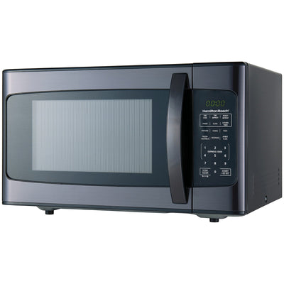 Hamilton Beach 1.1 Cu. Ft. 1000W Black Stainless Steel Microwave (5869213253797)