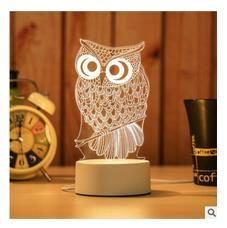 Coolfire USB Powered 3D LED Table Light Lamp (5859546300581)