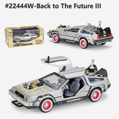 Welly 1:24 Model Diecast Alloy Back to the Future DMC-12 Delorean Toy Car (5854048911525)