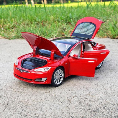 Tesla MODEL X / MODEL 3 Alloy Diecast Model Toy Car (5854049239205)