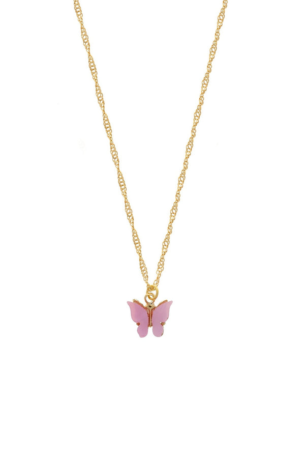 Butterfly Necklace - Blush - DennisMaglic.com