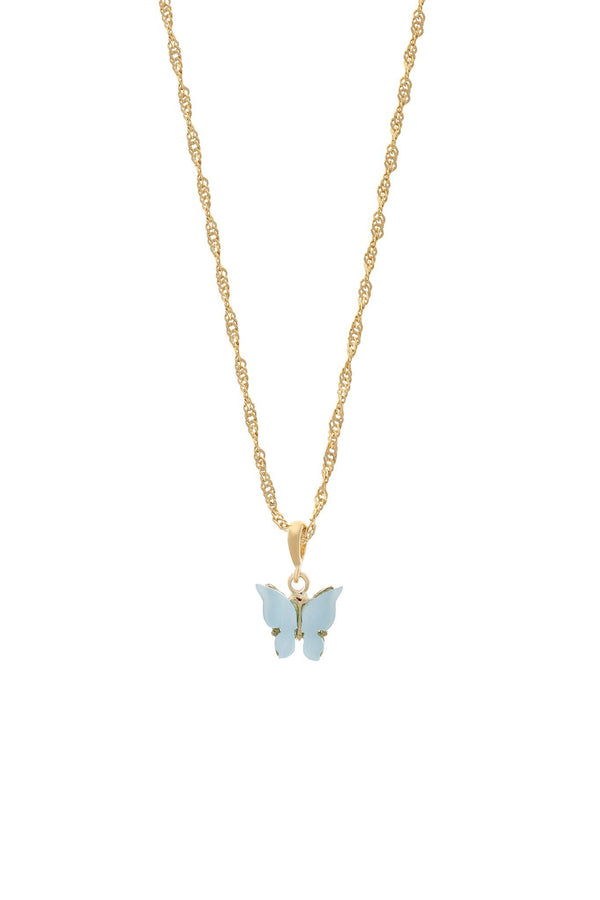 Butterfly Necklace - Sky - DennisMaglic.com