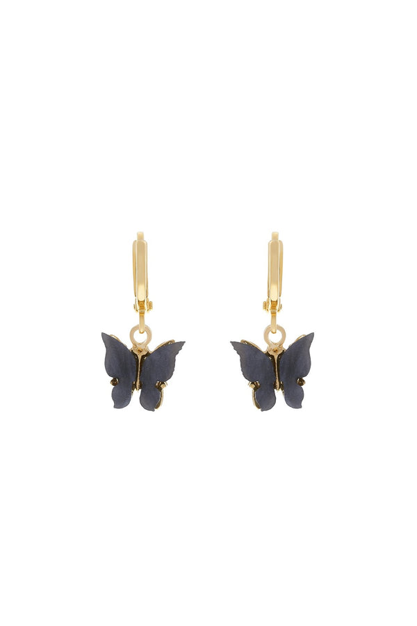 Butterfly Earrings - Midnight - DennisMaglic.com