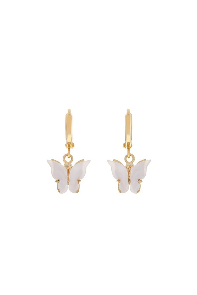 Butterfly Earrings - Pearl - DennisMaglic.com