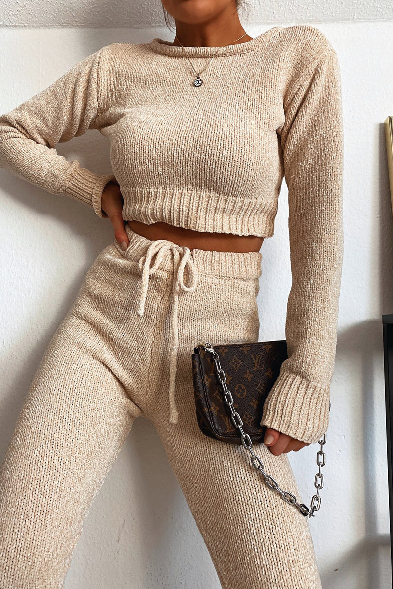 Mandy Two Piece - Beige - DennisMaglic.com