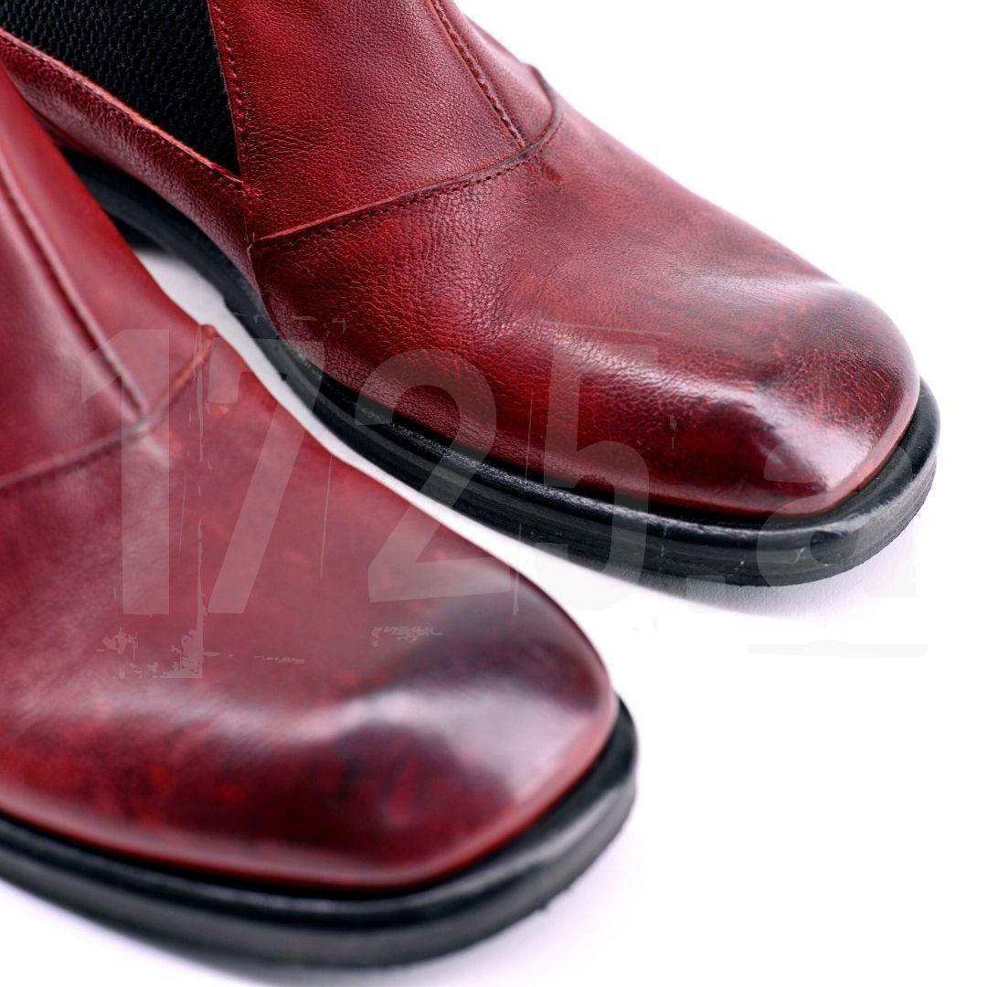 Tallinn - rosso - 1725.a - Scarpe Made in Italy