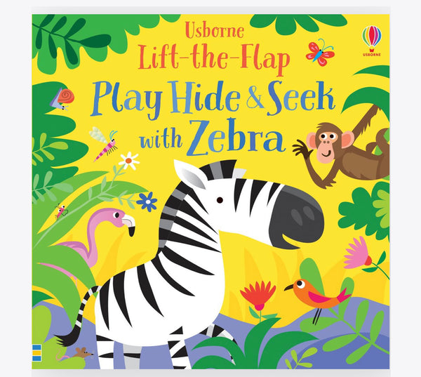 Play Hide & Seek with Zebra