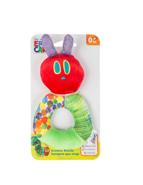 The Very Hungry Caterpillar Plush Rattle