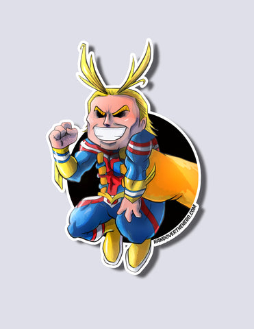 All Might / Nana Shimura Premium Vinyl Sticker