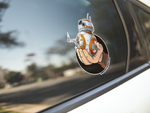 BB-8 / Poe Premium Vinyl Sticker