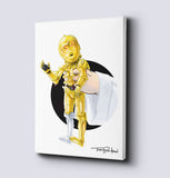 C-3PO / Luke Canvas Collection