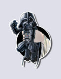 Darth Vader / Leia Premium Vinyl Sticker