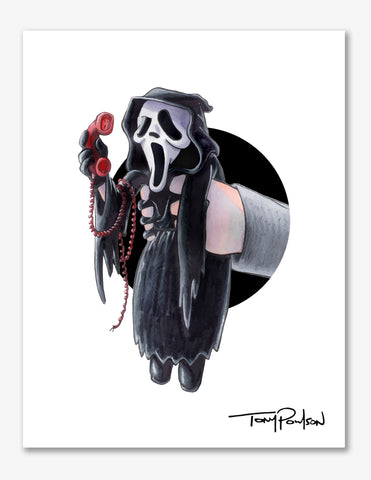 Ghost Face / Sideny Premium Art Print