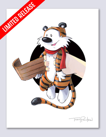 Winter Hobbes / Calvin Limited Edition Premium Art Print