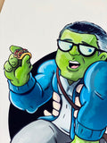 Smart Hulk w/ Tacos  LIMITED EDITION of 25