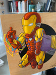 Iron Man / Thanos Original Art