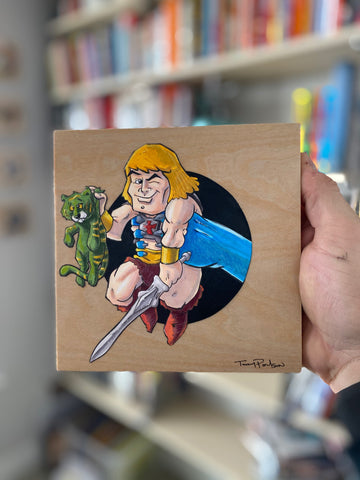 He-man / Skeletor Original Art