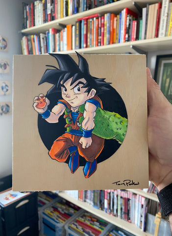 Goku / Shenron Original Art