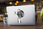 Jack Skellington / Sandy Claws Premium Vinyl Sticker