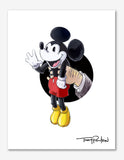 Mickey Mouse / Walt Disney Premium Art Print