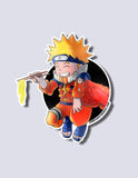 Naruto / Nine Tail Fox Premium Vinyl Sticker
