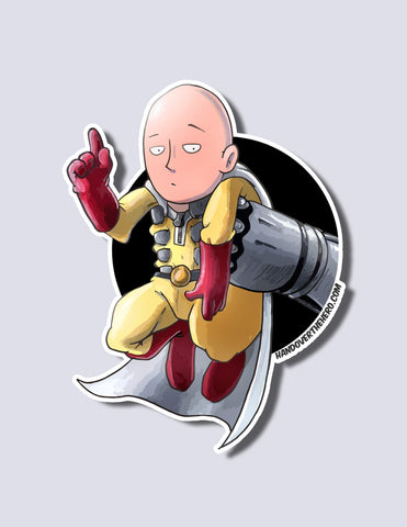 One Punch Man / Genos Premium Vinyl Sticker
