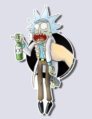 Rick / Morty Premium Vinyl Sticker