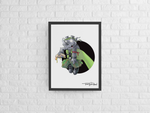 Rocksteady / Ninja Turtle Premium Art Print